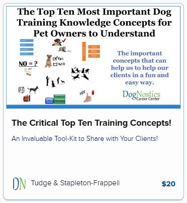 The Critical Top Ten Training Concepts!
