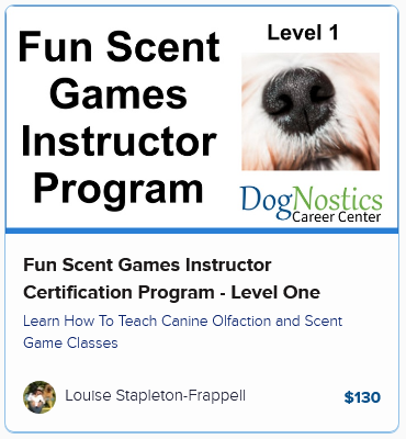 Fun Scent Games Instructor Certification Program – Level One