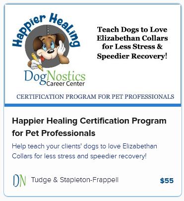 Happier Healing Certification Program for Pet Professionals