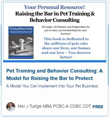 Pet Training and Behavior Consulting