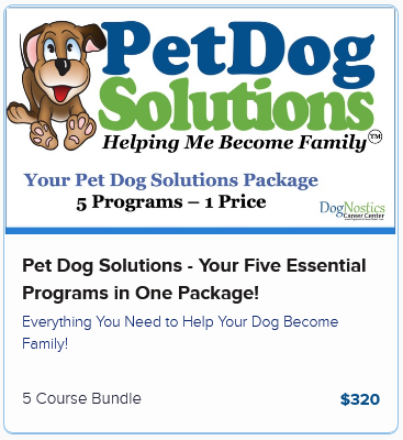 Pet Dog Solutions – Your Five Essential Programs in One Package!