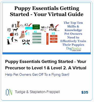 Puppy Essentials Getting Started – Your Precursor to Level 1 & Level 2