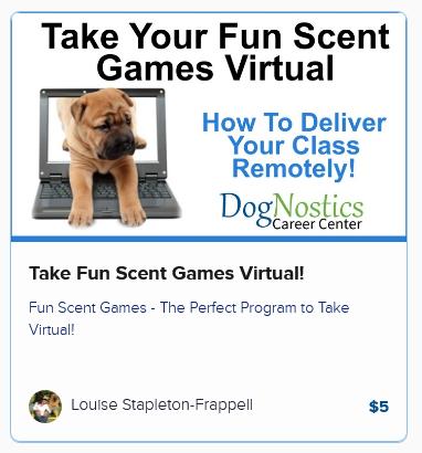 Take Fun Scent Games Virtual!