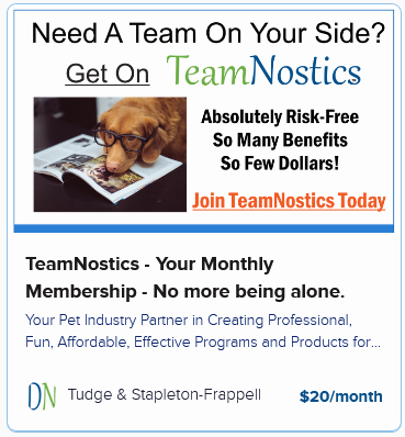 TeamNostics – Your Monthly Membership – No more being alone.