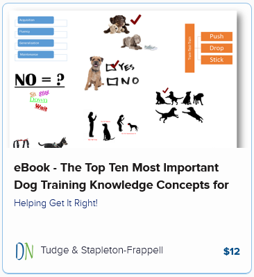 eBook – The Top Ten Most Important Dog Training Knowledge Concepts for Pet Owners to Understand