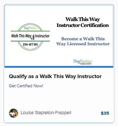 Qualify as a Walk This Way Instructor